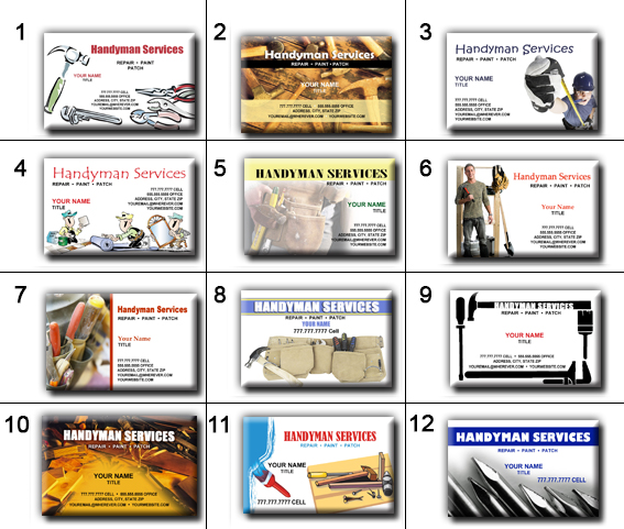 Handyman business cards templates free images business cards ideas business cards business cards free printable handyman business famous handyman business card template ideas example business flashek Image collections